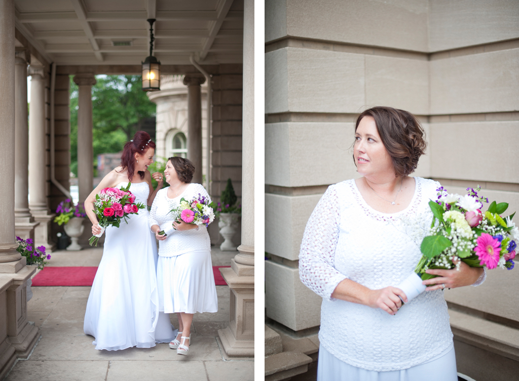 Simple Wedding Dresses For Justice Of The Peace: The Ceremony Of Constance & Amy