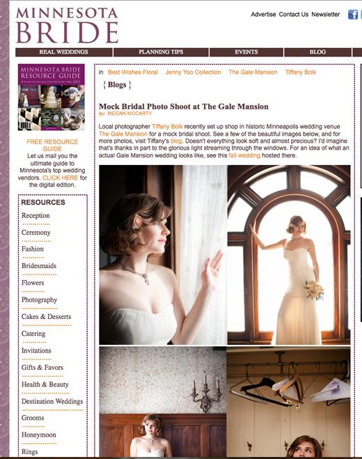 Minnesota Bride, Tiffany Bolk Photography