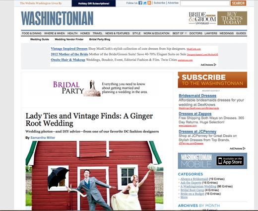 Washingtonian, Tiffany Bolk Photography