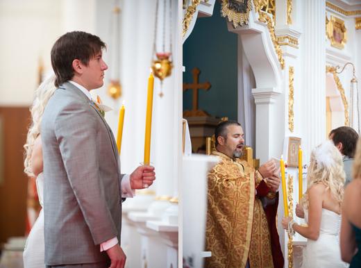 St. Katherine's Ukranian Orthodox Church wedding photos