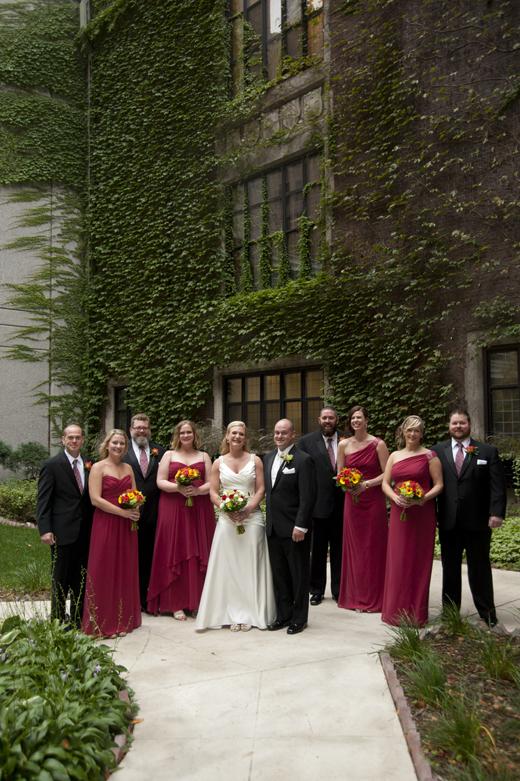 Minneapolis Club Wedding Photos 22