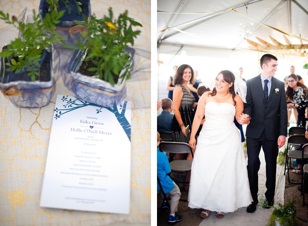 Minneapolis Backyard Wedding Photos 39