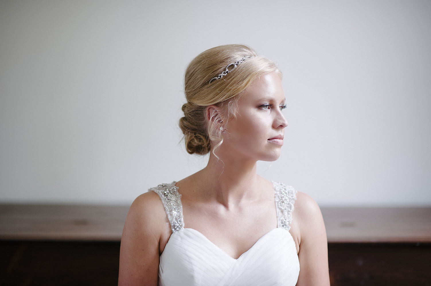 bridal portrait at Murphys Landing